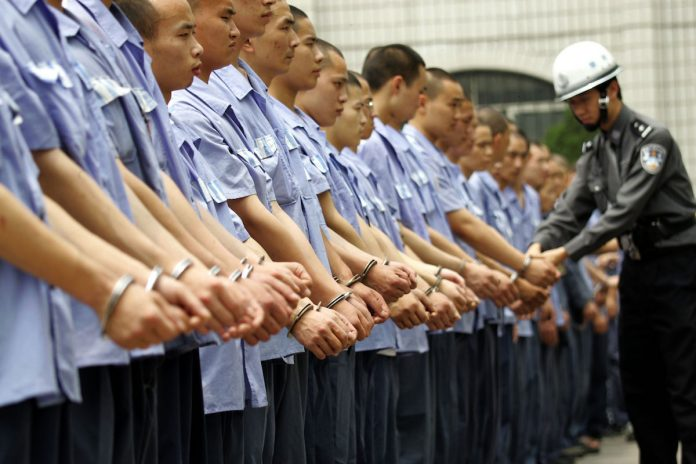 prisoners forced to pack quaker oats in shanghai jail