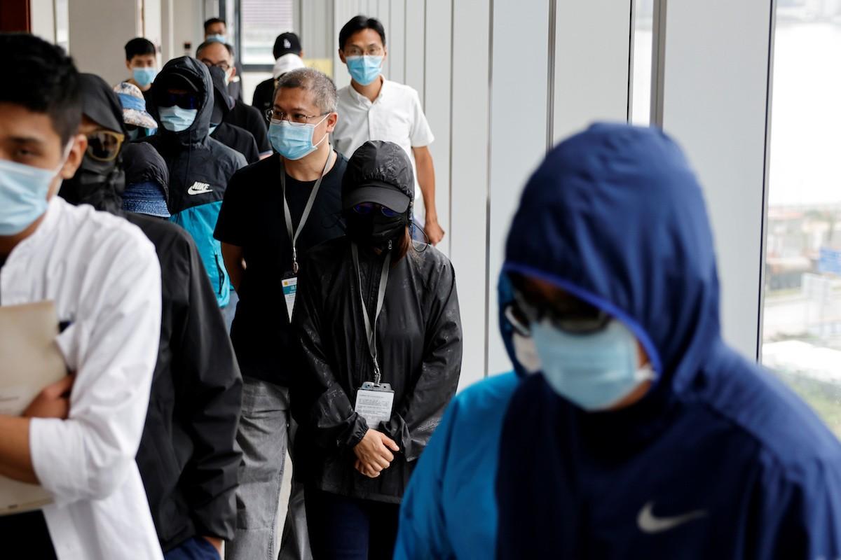 A Hong Kong protester's farewell note and failed escape   Catholic News in Asia   LiCAS.news   Licas News