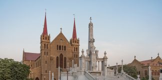 St. Patrick's Cathedral in Karachi, Pakistan