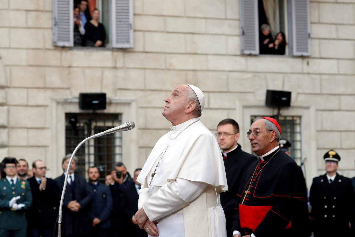 Pope cancels traditional pre-Christmas ceremony due to COVID-19 | Catholic News in Asia | LiCAS.news | Licas News