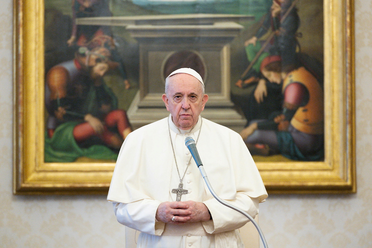 Pope reminds faithful of God's blessing, patience | Catholic News in Asia | LiCAS.news | Licas News