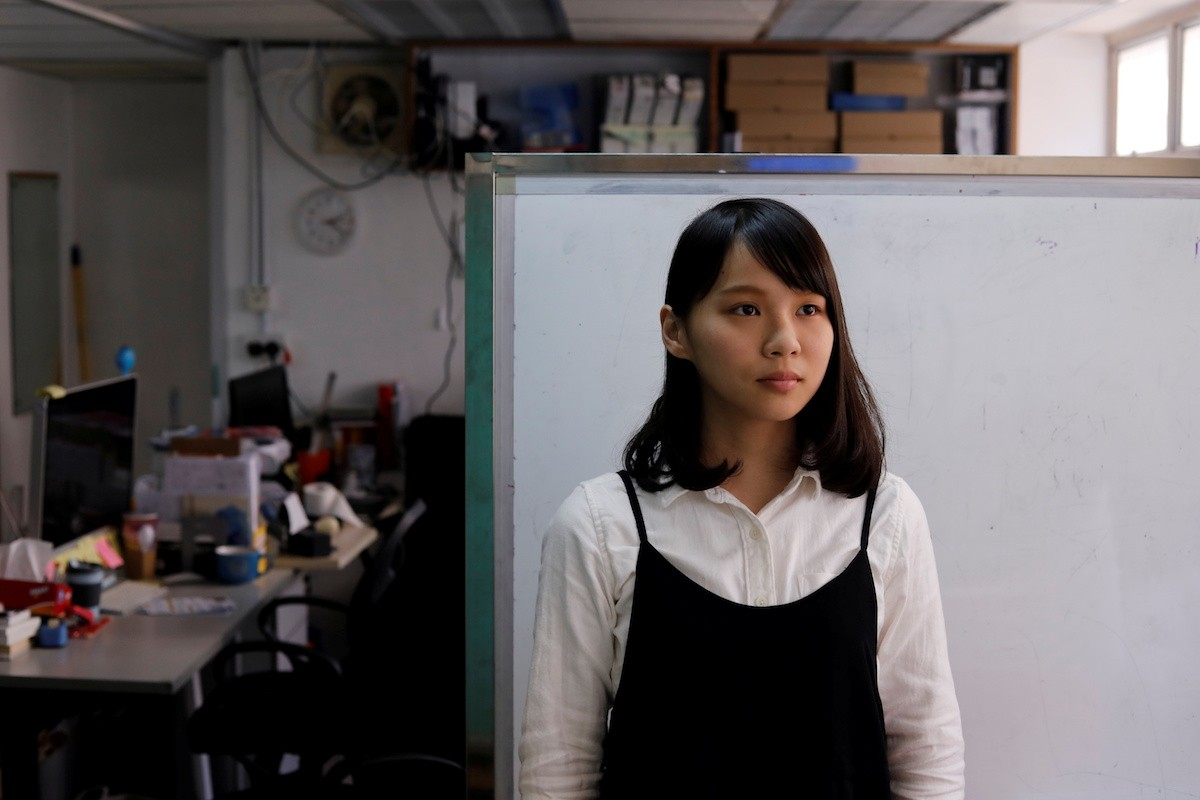 Hong Kong pro-democracy activist Agnes Chow