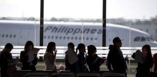 Filipino workers returning home from Kuwait
